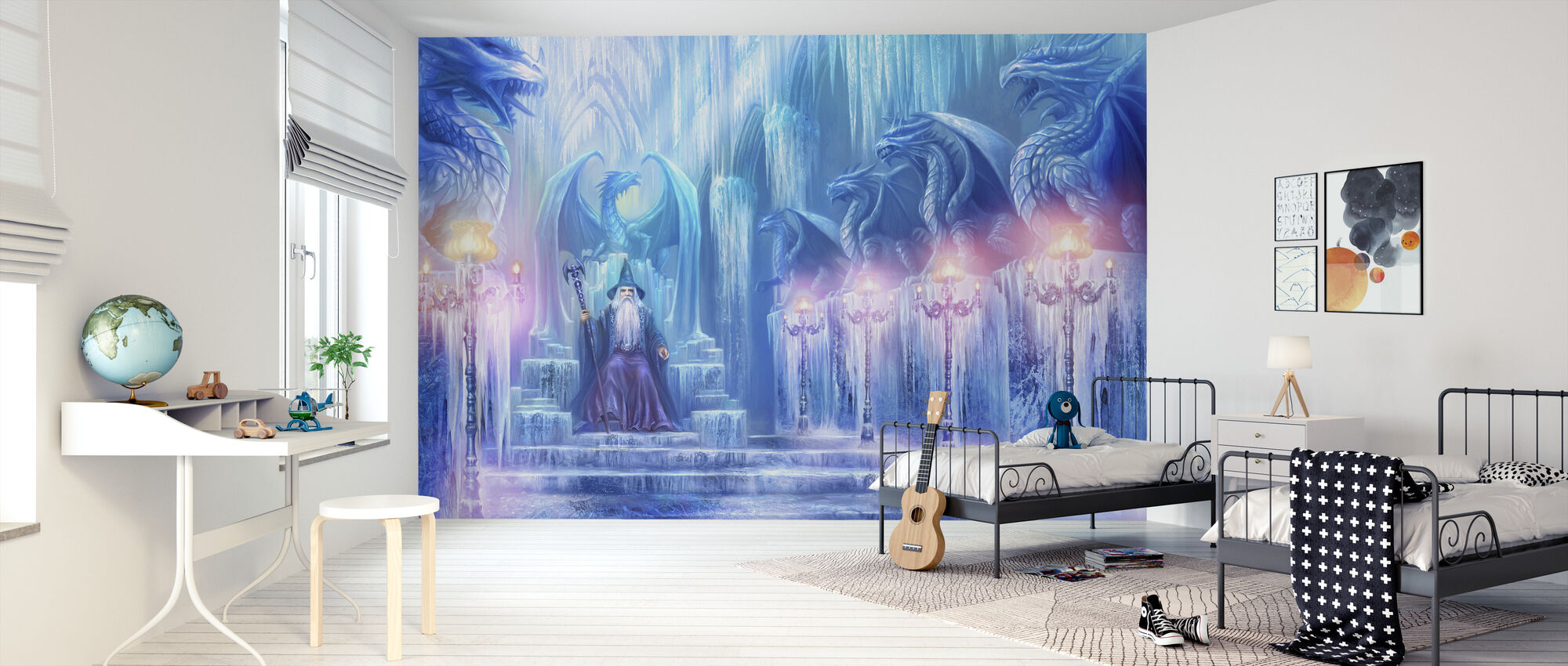 The Ice Palace - Wallpaper - Kids Room