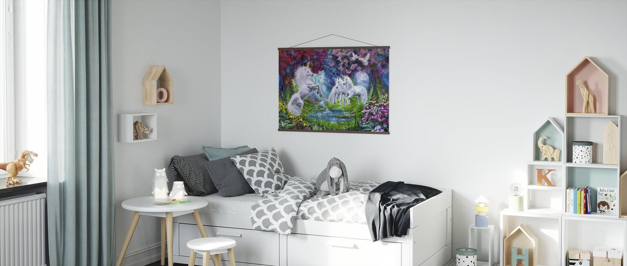 Enhörningen Rendezvous - Poster - Barnrum