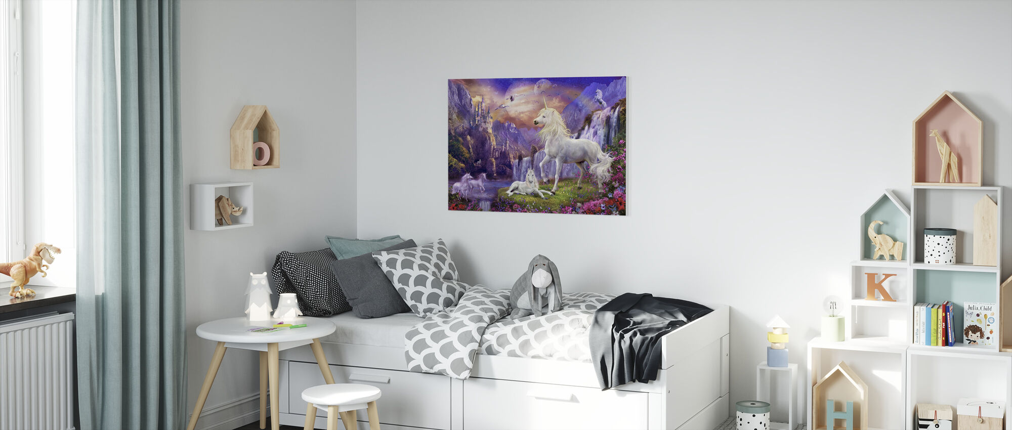 Early Evening - Canvas print - Kids Room