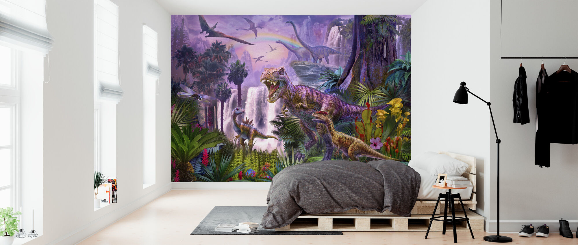 Paratiisi - Tapetti - Makuuhuone