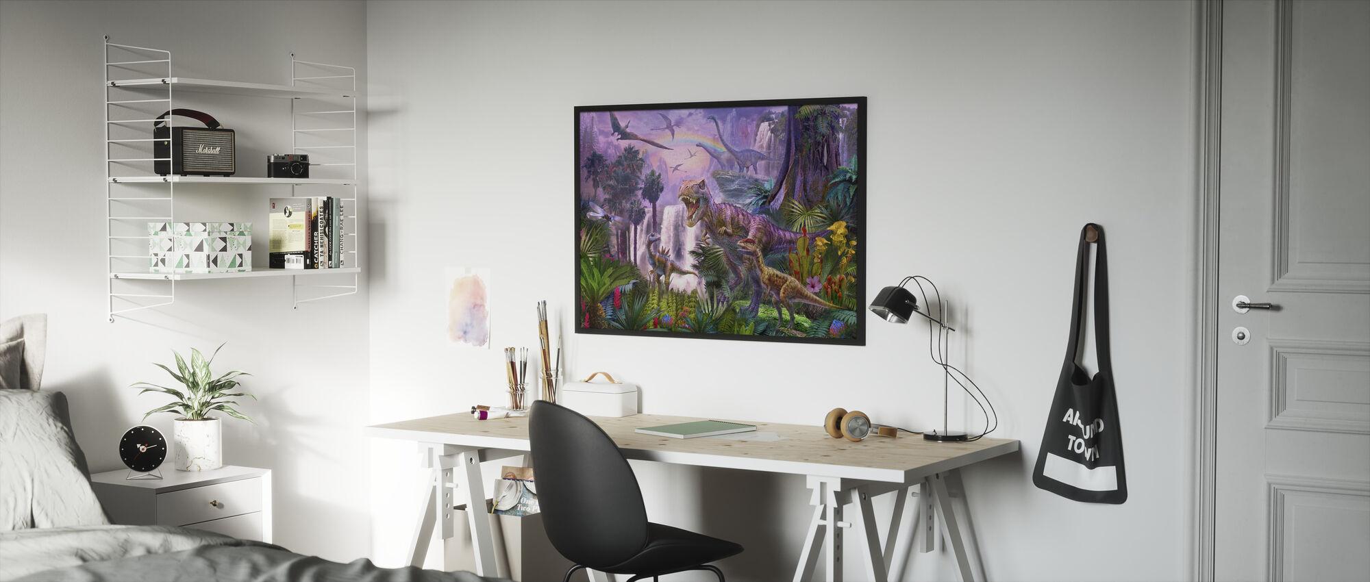 Paradise - Framed print - Kids Room