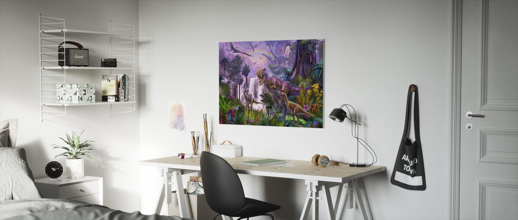 Paradise - Canvas print - Kids Room