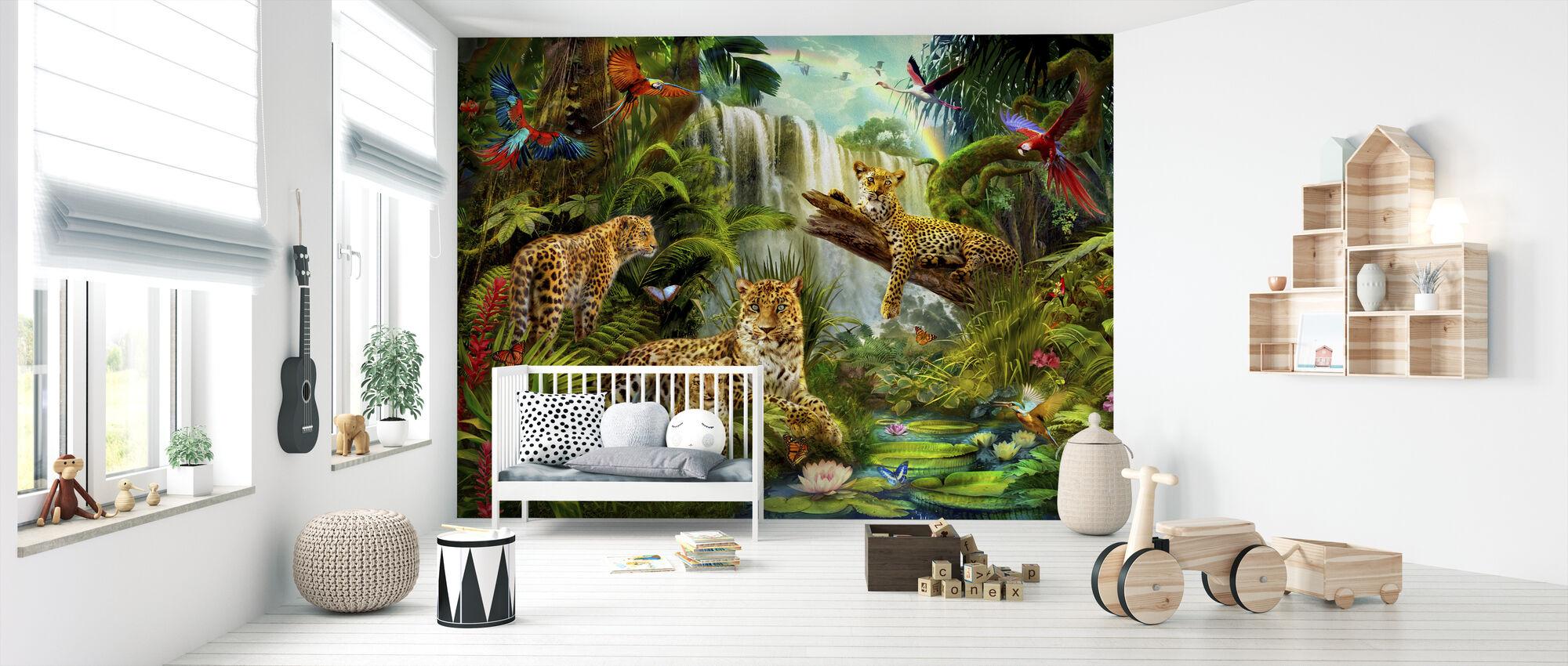 Leoparder - Tapet - Babyrum