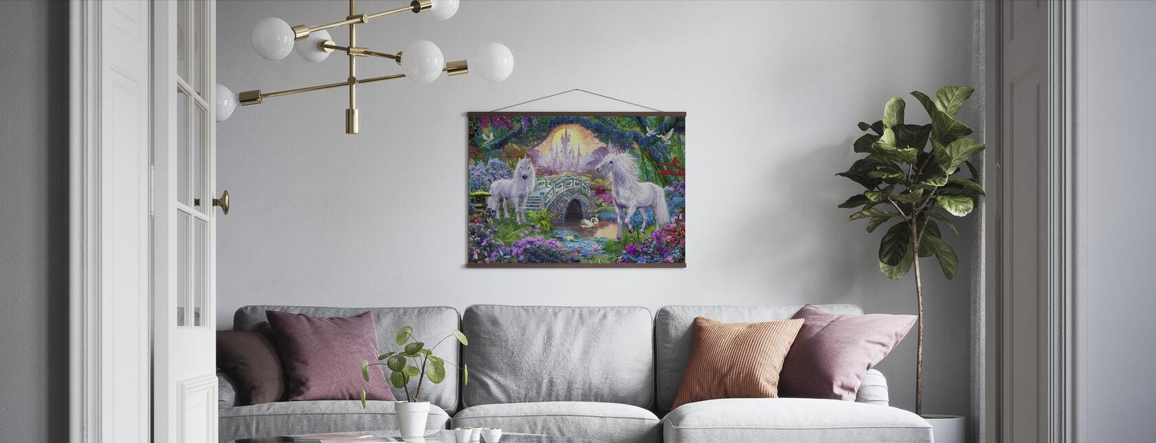 Royaume de licorne magique - Affiche - Salle à manger