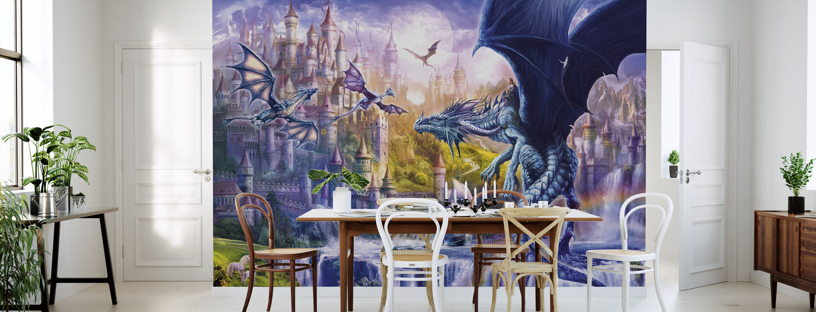 Dragon Castle - Wallpaper - Kitchen