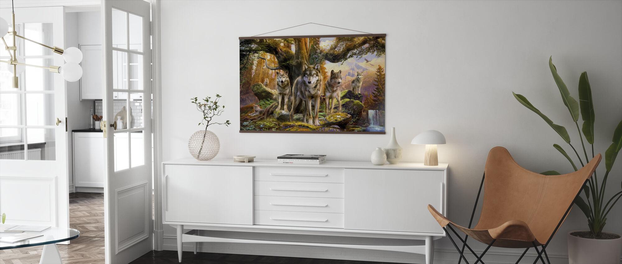 Wolves - Poster - Living Room