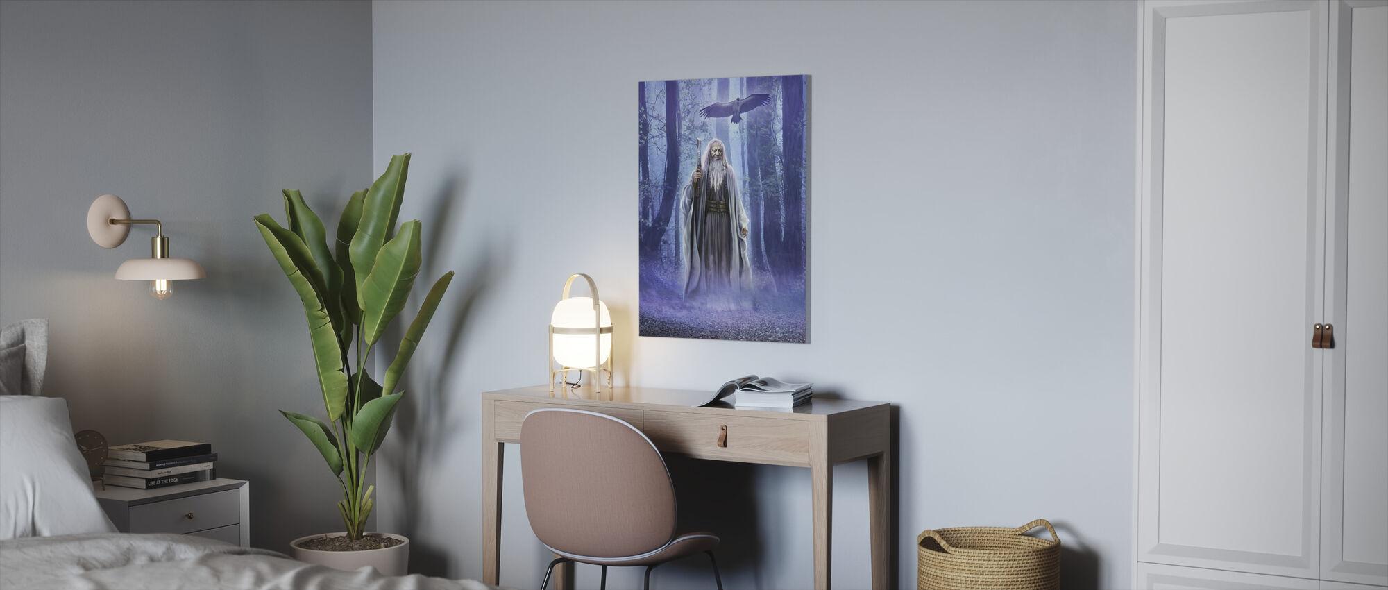 Druid - Canvastavla - Kontor