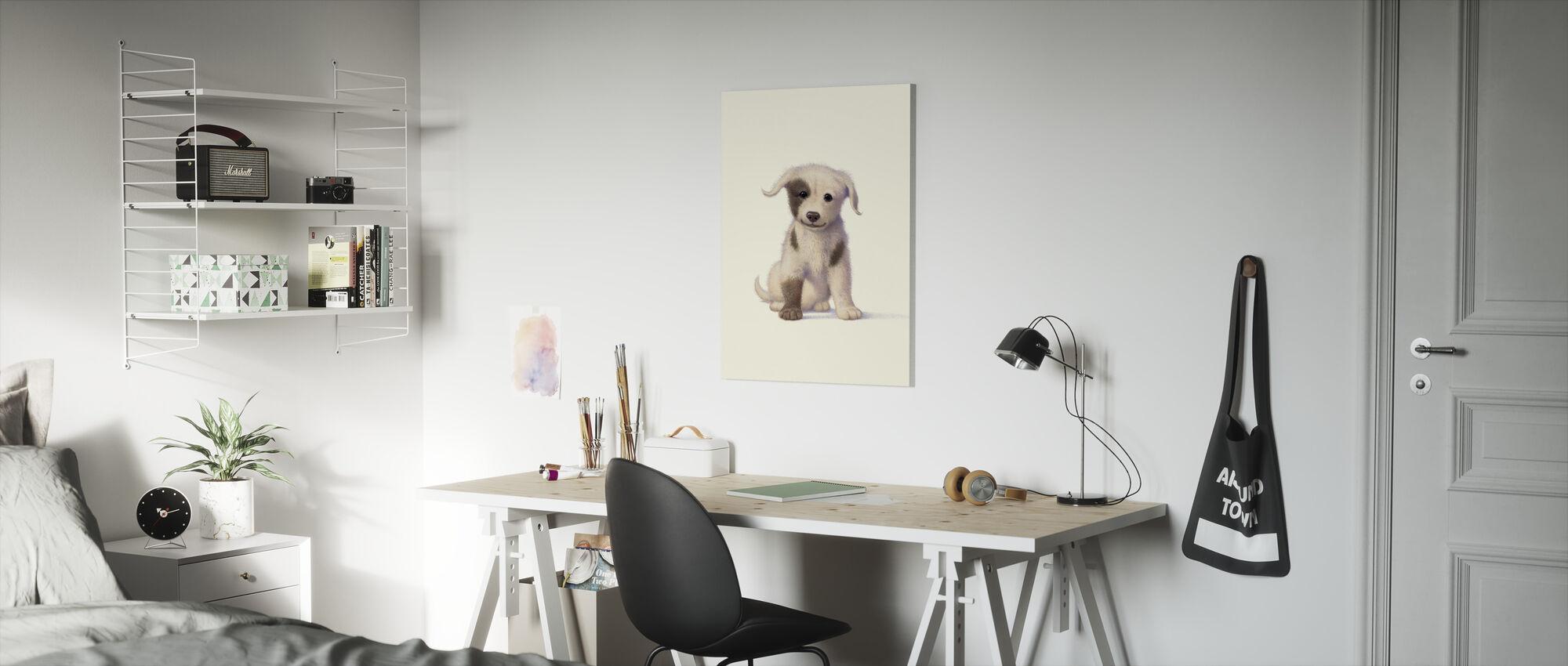 Koiranpentu - Canvastaulu - Lastenhuone