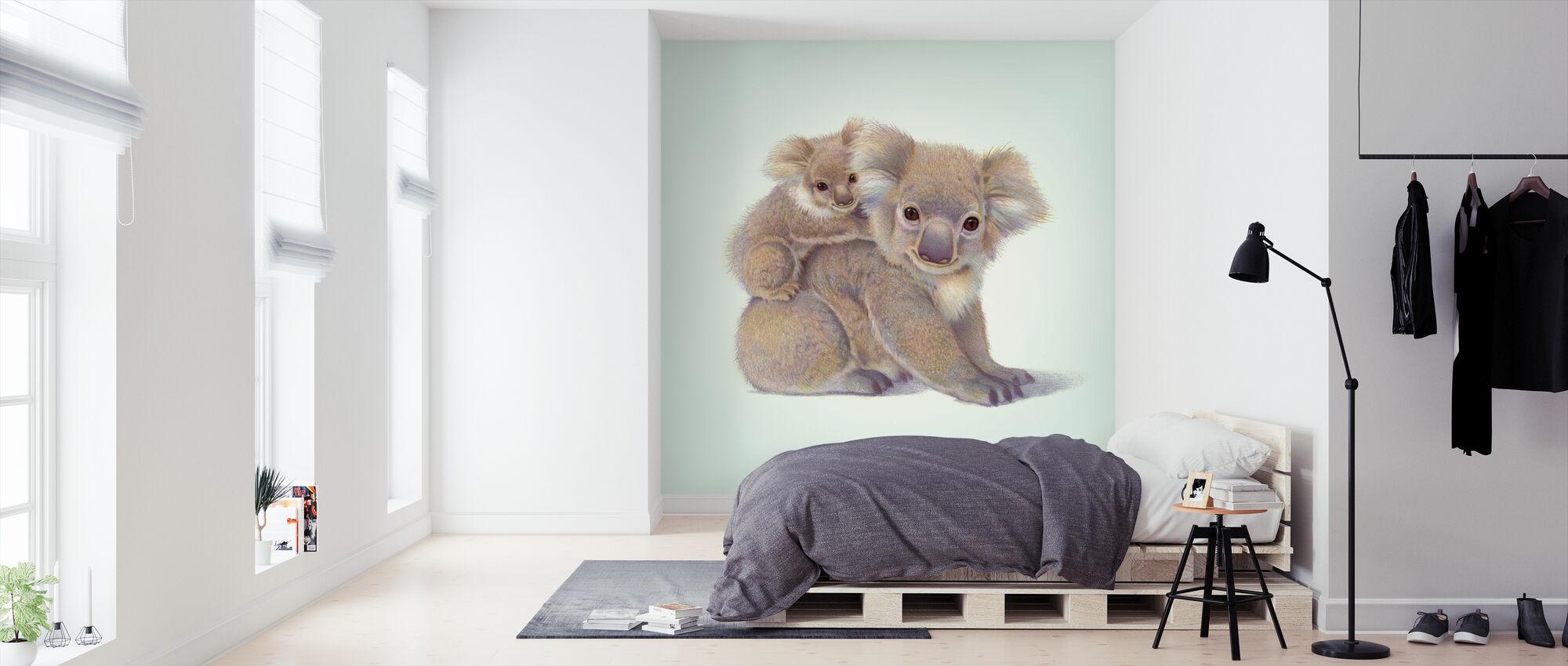 Koala Baby - Wallpaper - Bedroom