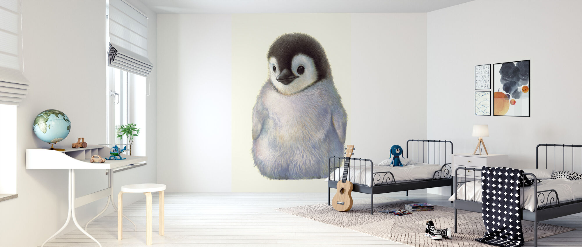 Pingvin Chick - Tapet - Børneværelse
