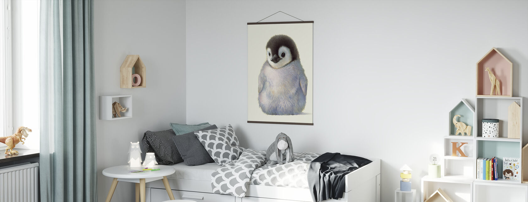 Penguin Chick - Poster - Kids Room