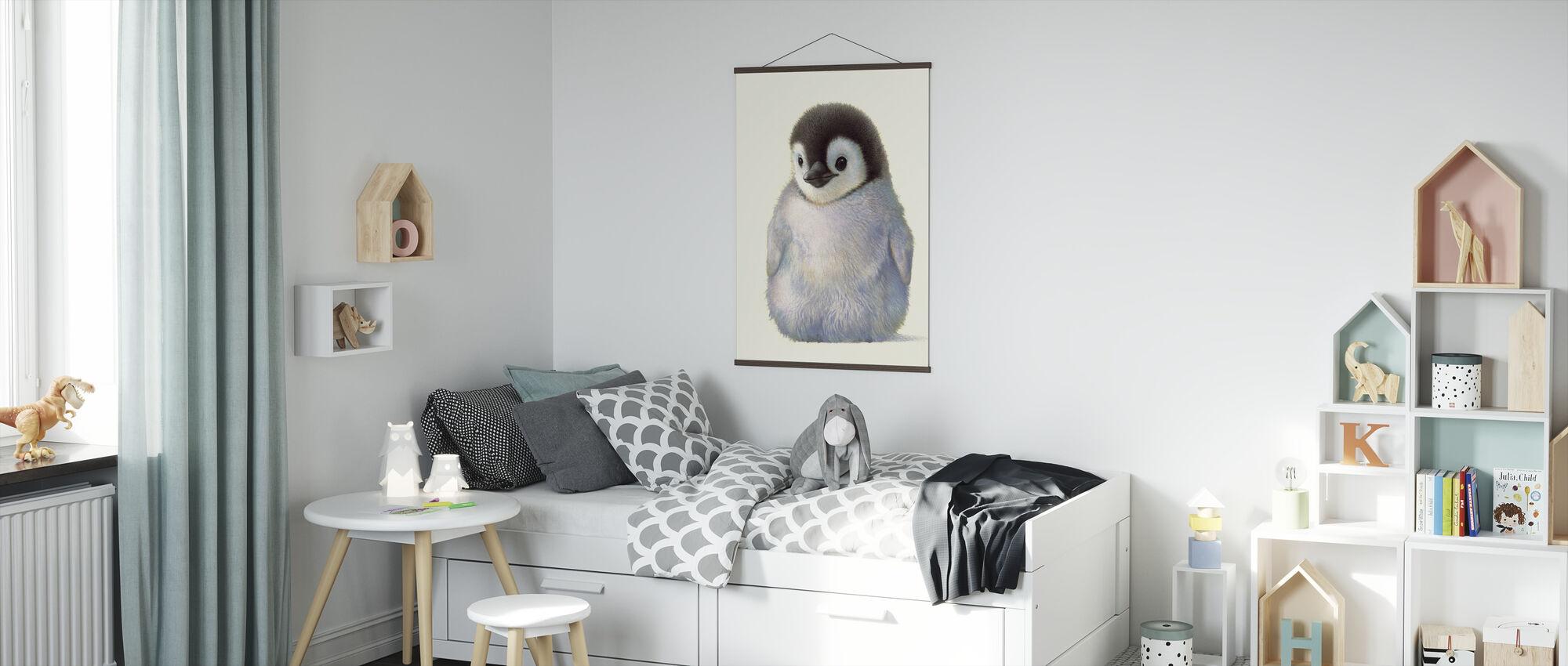 Penguin Chick - Poster - Kids Room