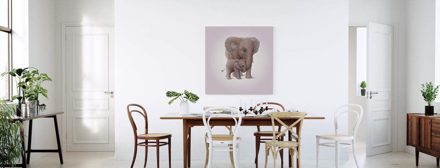 Olifant Kalf - Canvas print - Keuken