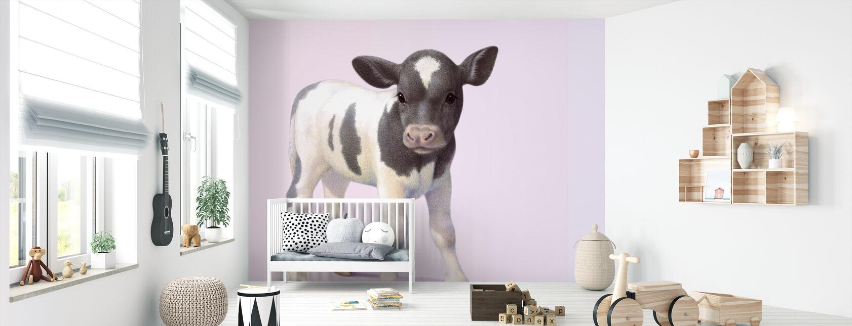 Vasikka Pysyvä - Tapetti - Vauvan huone