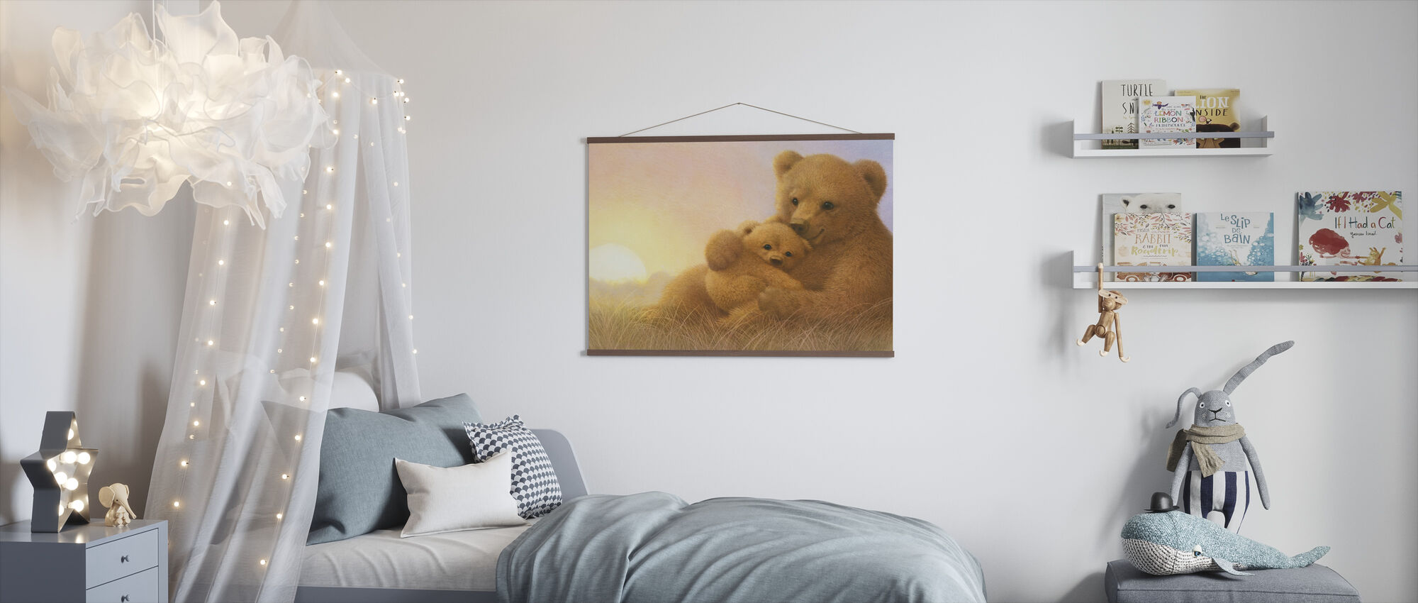 Bear Cub - Poster - Kids Room