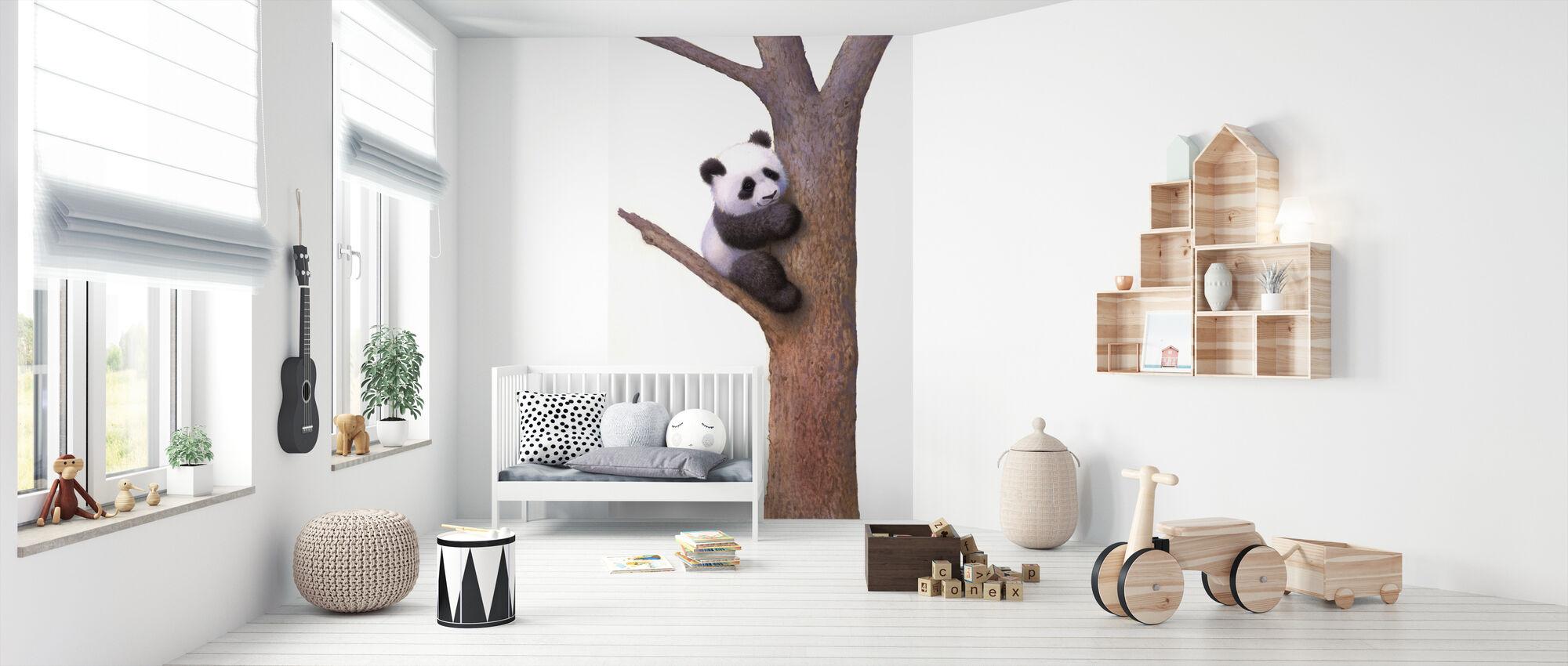 Pishu Panda - Tapet - Babyrom