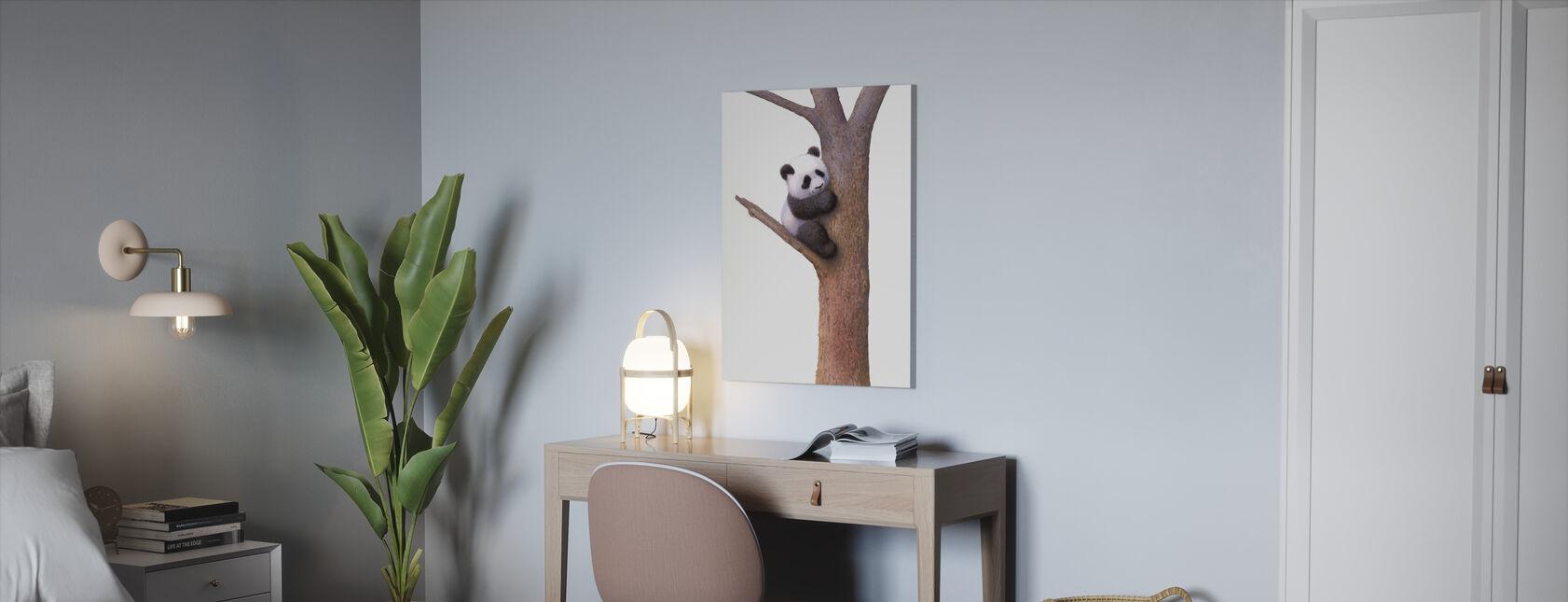 Pishu Panda - Canvas print - Kantoor