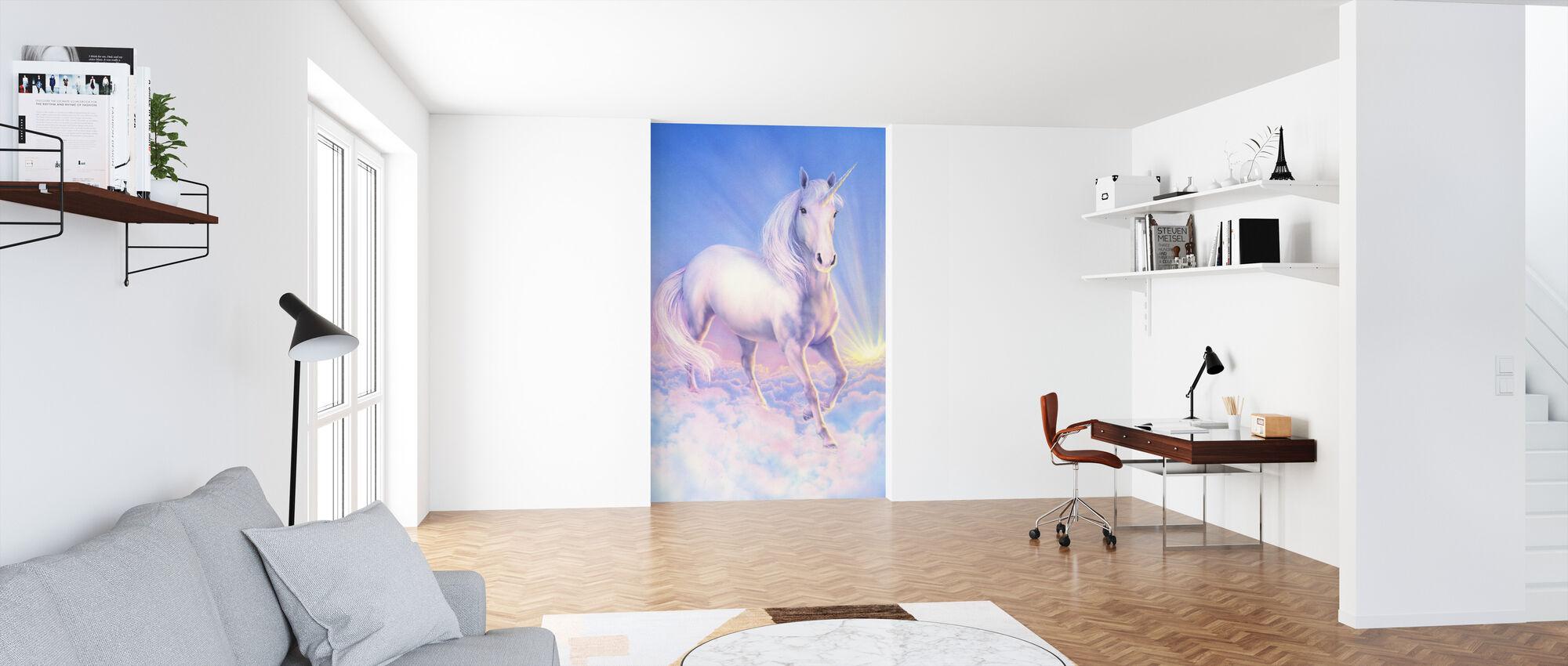 Drøm Enhjørning - Tapet - Kontor
