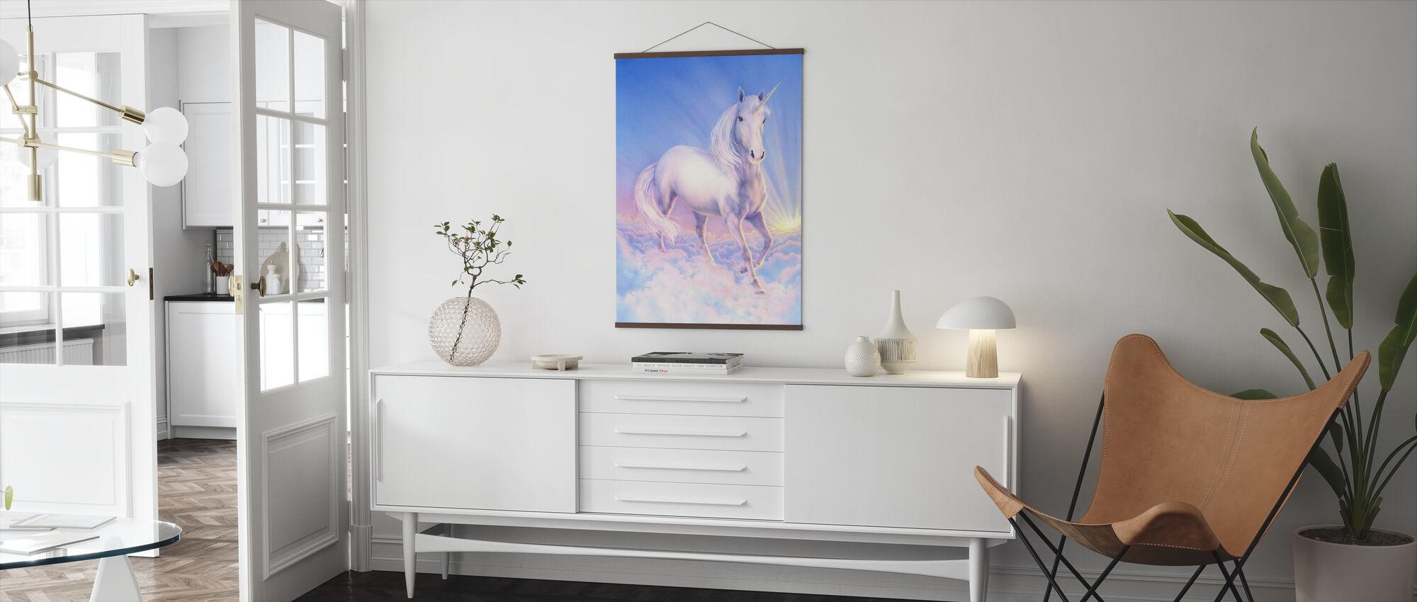 Dream Unicorn - Poster - Living Room
