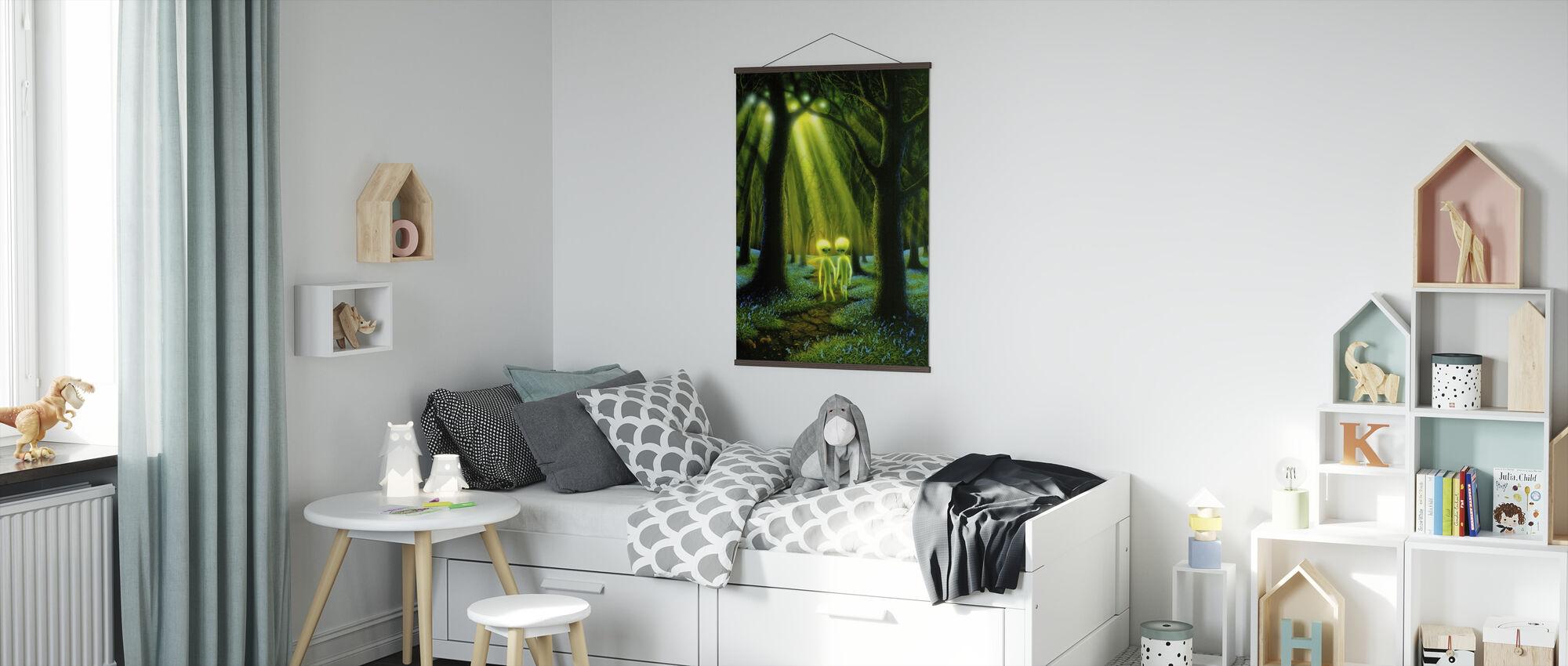 Främmande skogen - Poster - Barnrum