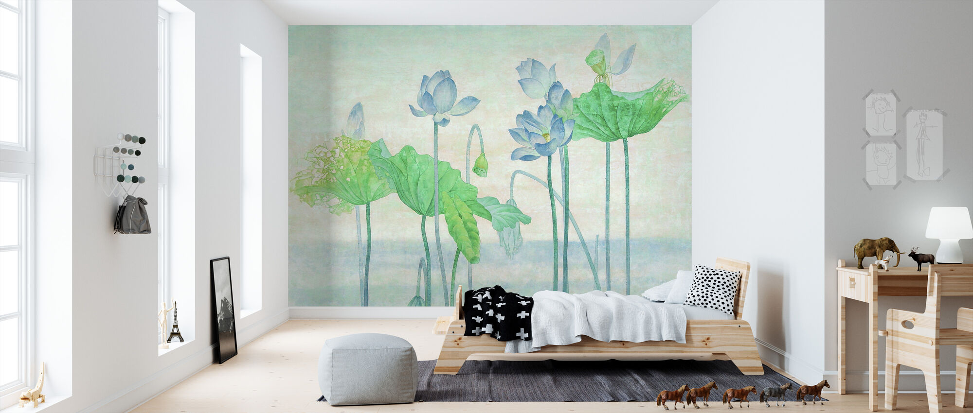 Morning Mist - Wallpaper - Kids Room