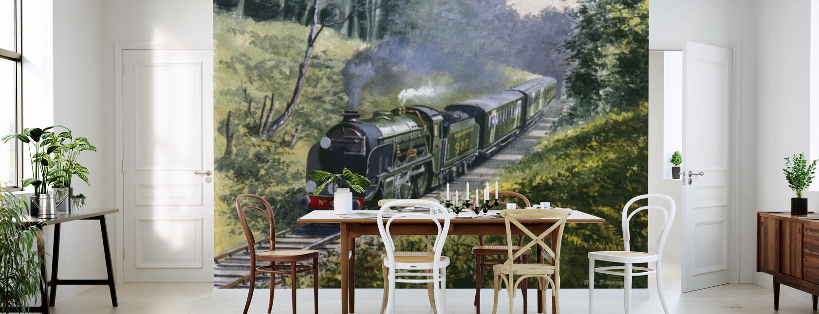 Schools Class on the Bluebell Line - Wallpaper - Kitchen