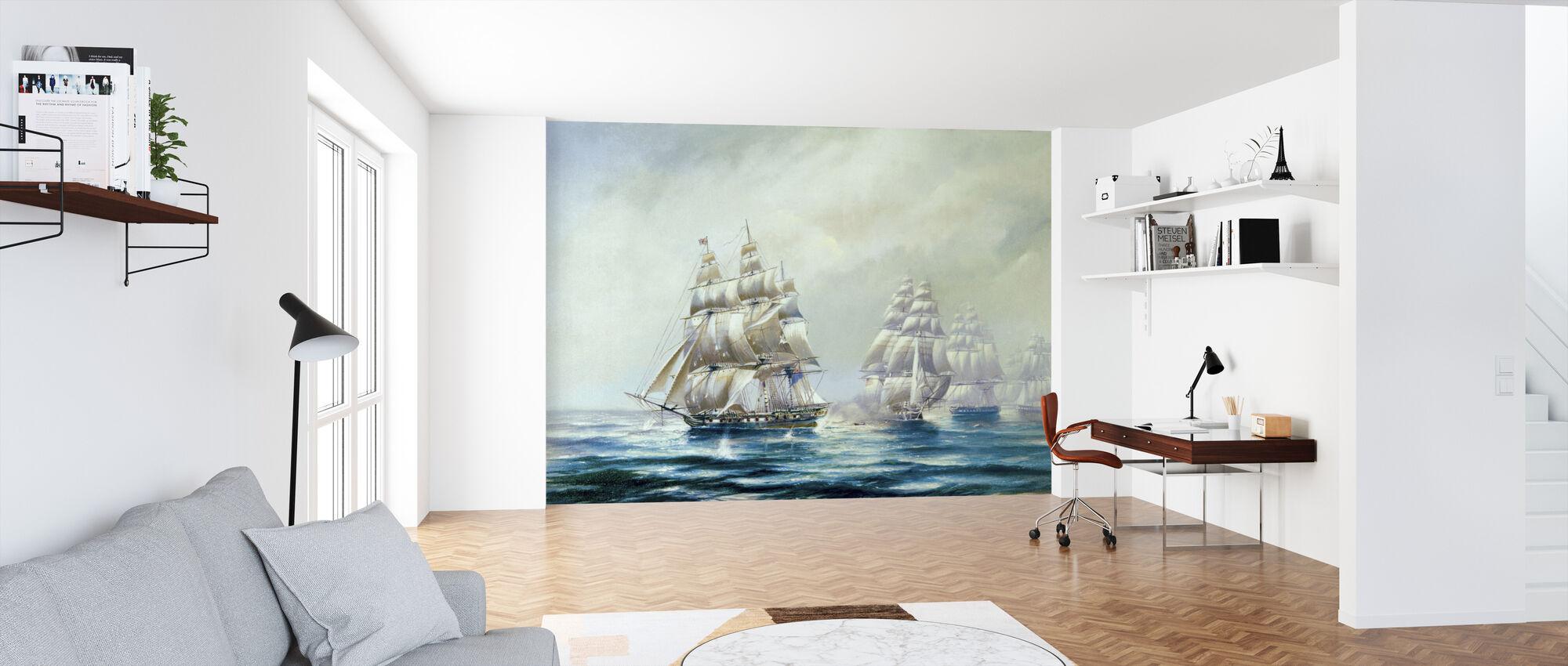 HMS Belvidera - Wallpaper - Office