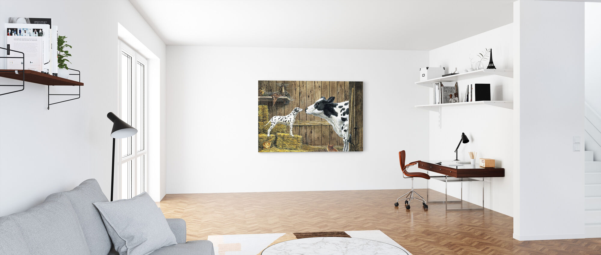 Relations - Canvas print - Office