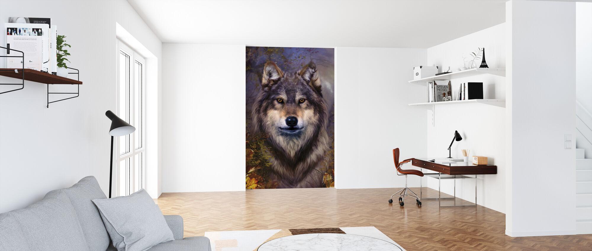 Wolf Variant - Tapet - Kontor