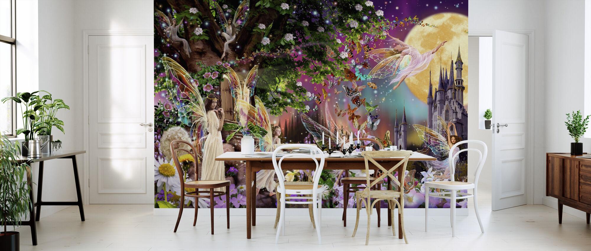 Fairy Triptych - Tapet - Kjøkken