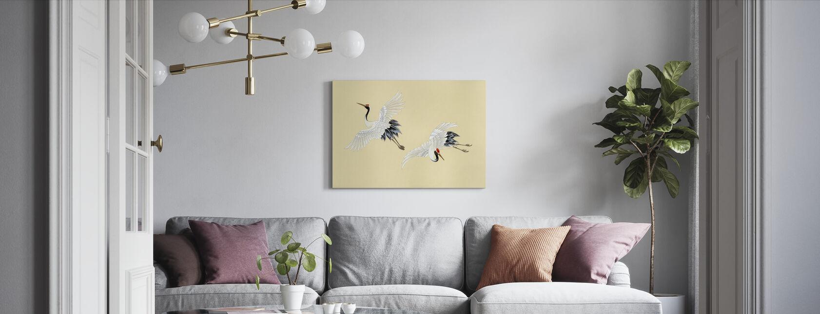Twee Kranen - Canvas print - Woonkamer