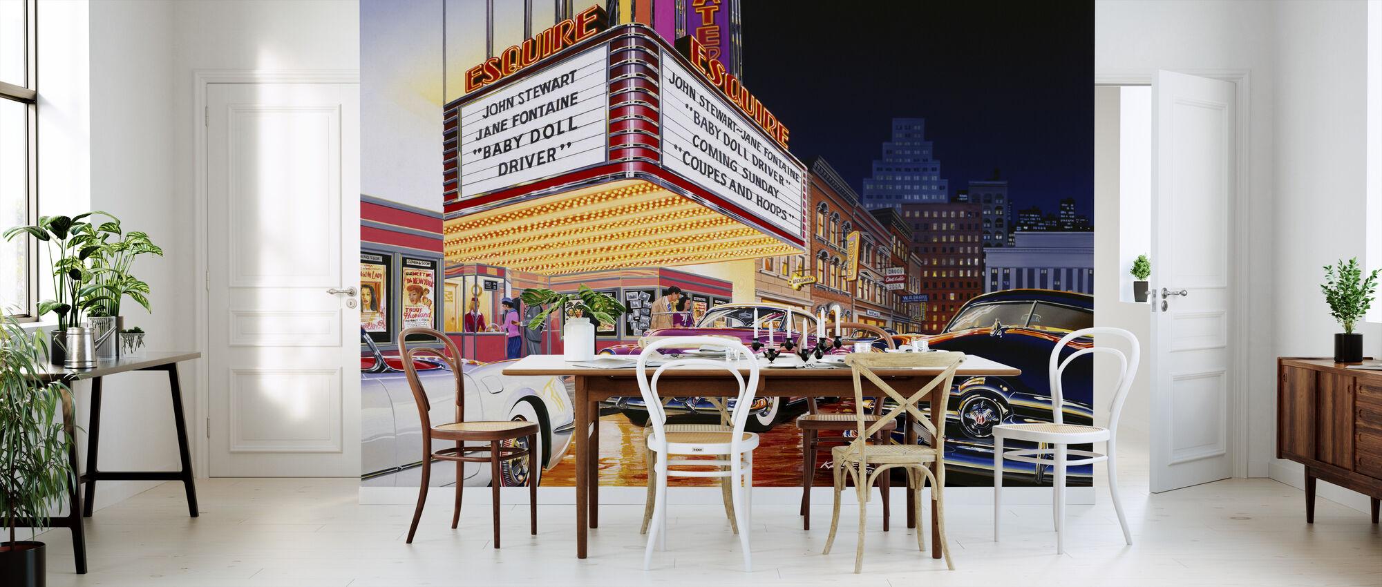 Esquire Teater - Tapet - Kjøkken