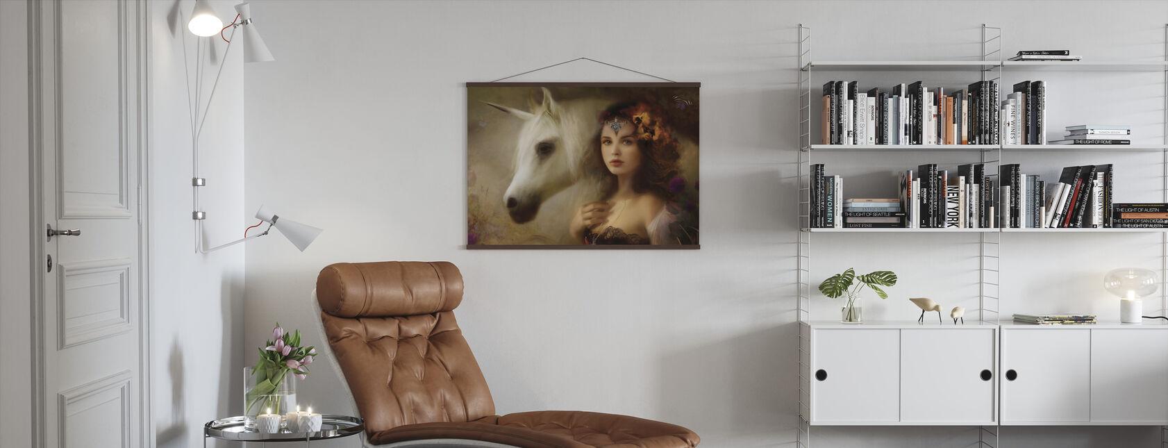Unicorn - Poster - Living Room