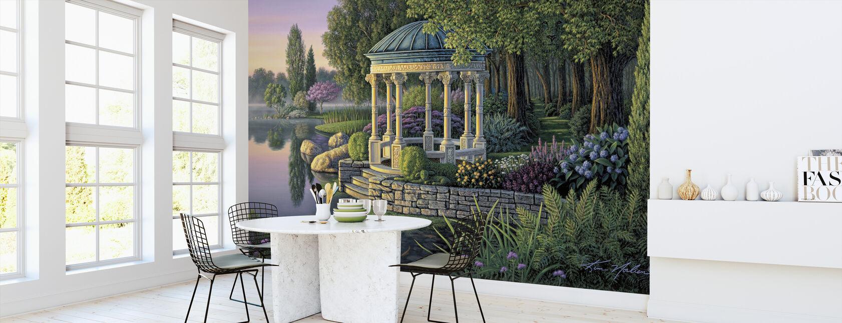 Secret Garden - Wallpaper - Kitchen