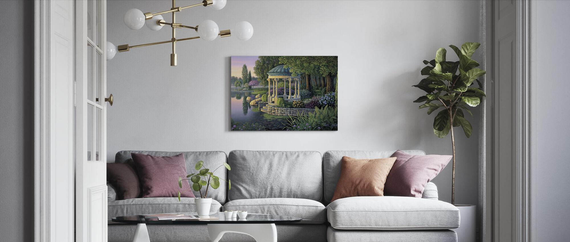 Secret Garden - Canvas print - Living Room