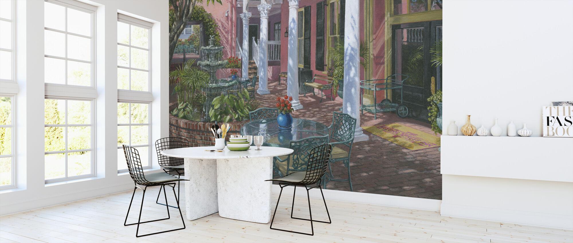 Meeting Street Inn Charleston - Wallpaper - Kitchen