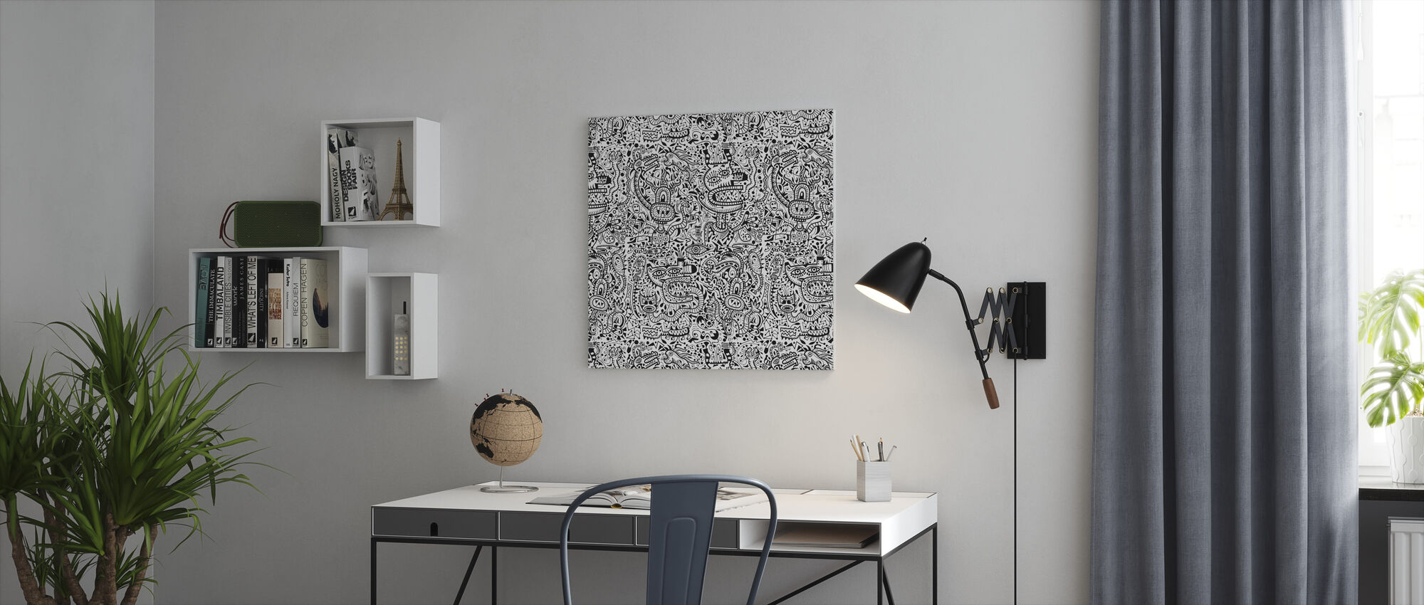 Fenelon - Canvas print - Kantoor