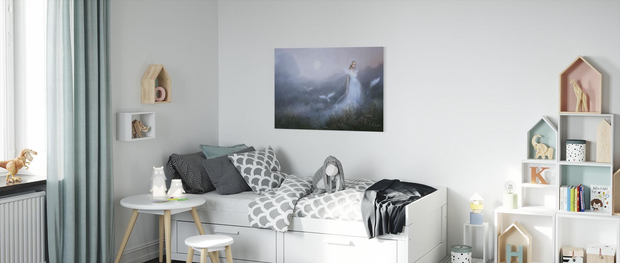 Dags Brun - Canvas print - Kids Room