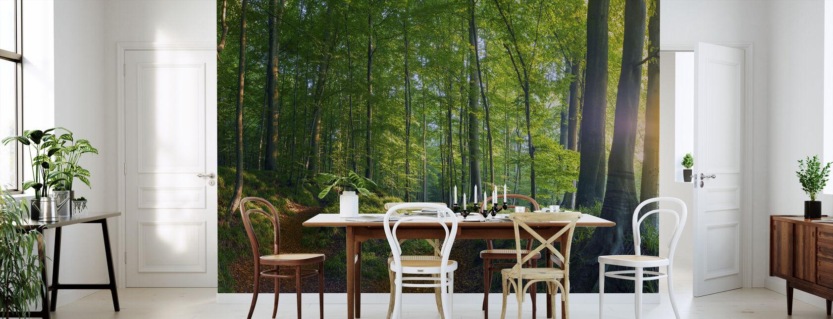I skoven - Tapet - Køkken