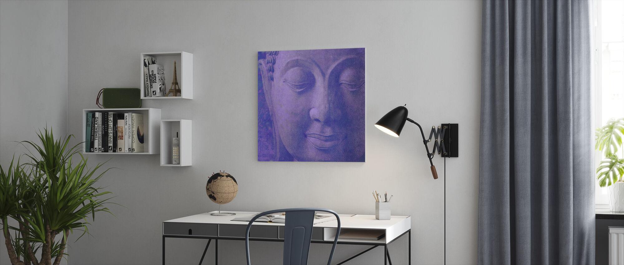 Lilla Buddha Squared - Lerretsbilde - Kontor