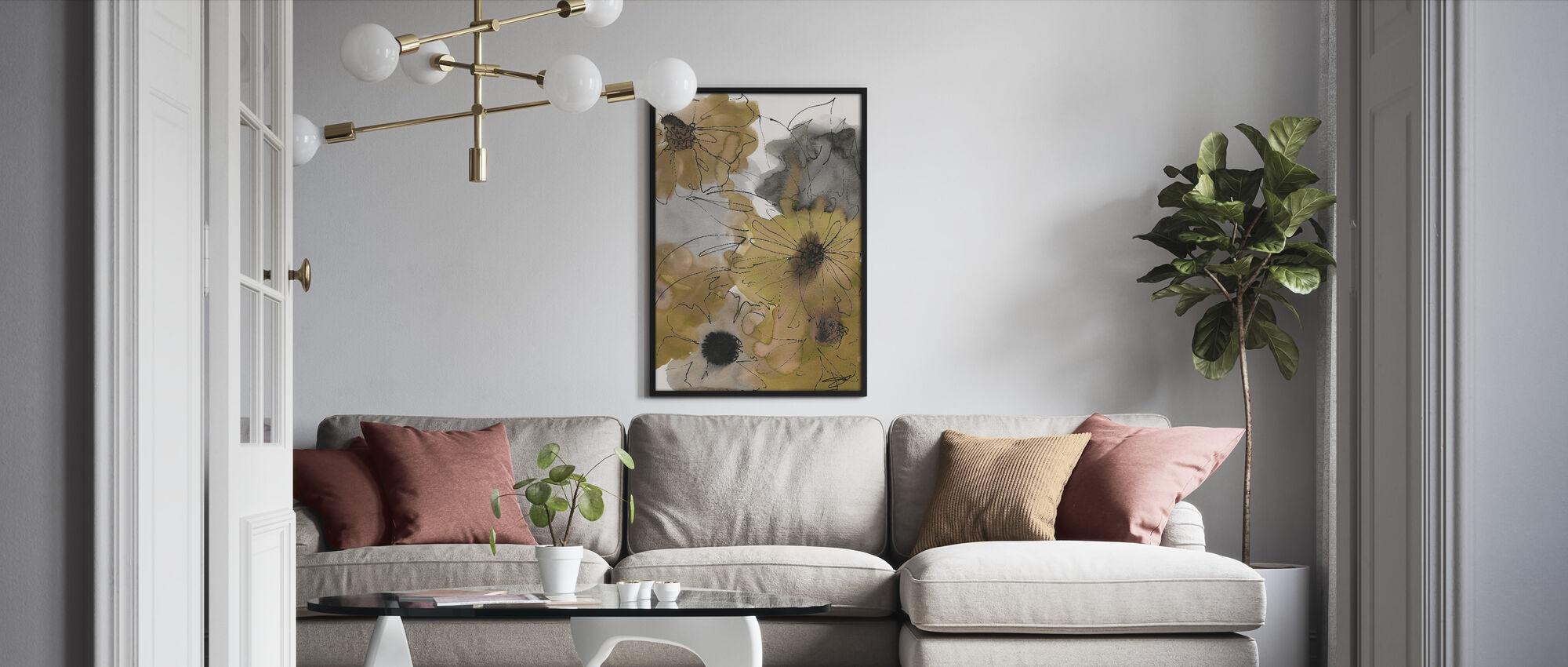 Tan Bloemen - Ingelijste print - Woonkamer