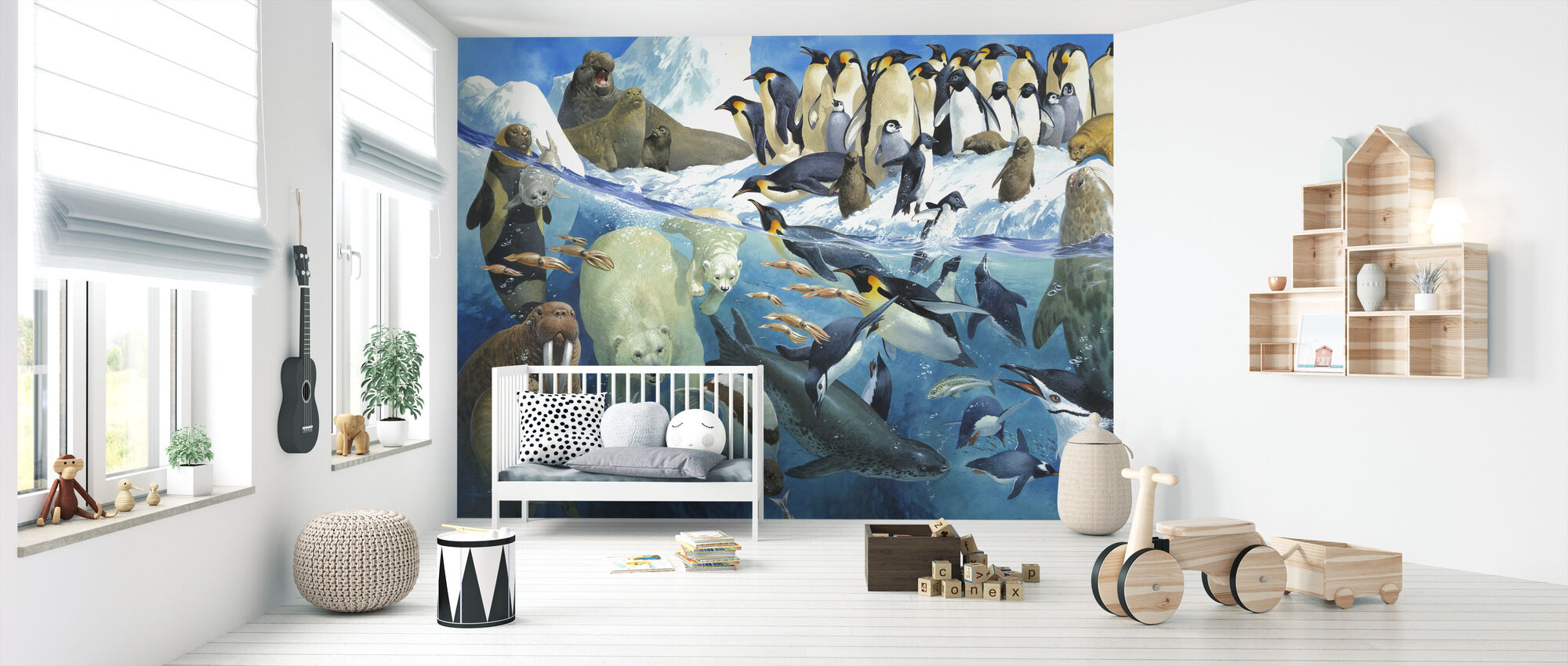 Polar Parents - Wallpaper - Nursery