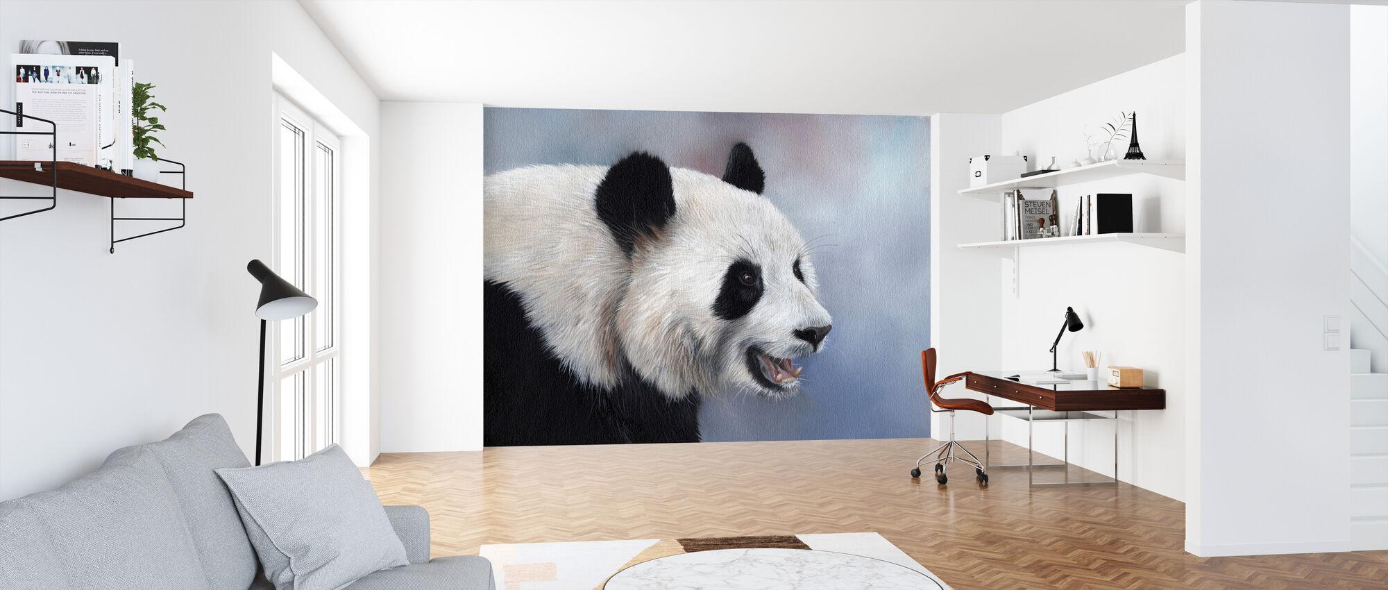 Giganten panda - Tapet - Kontor