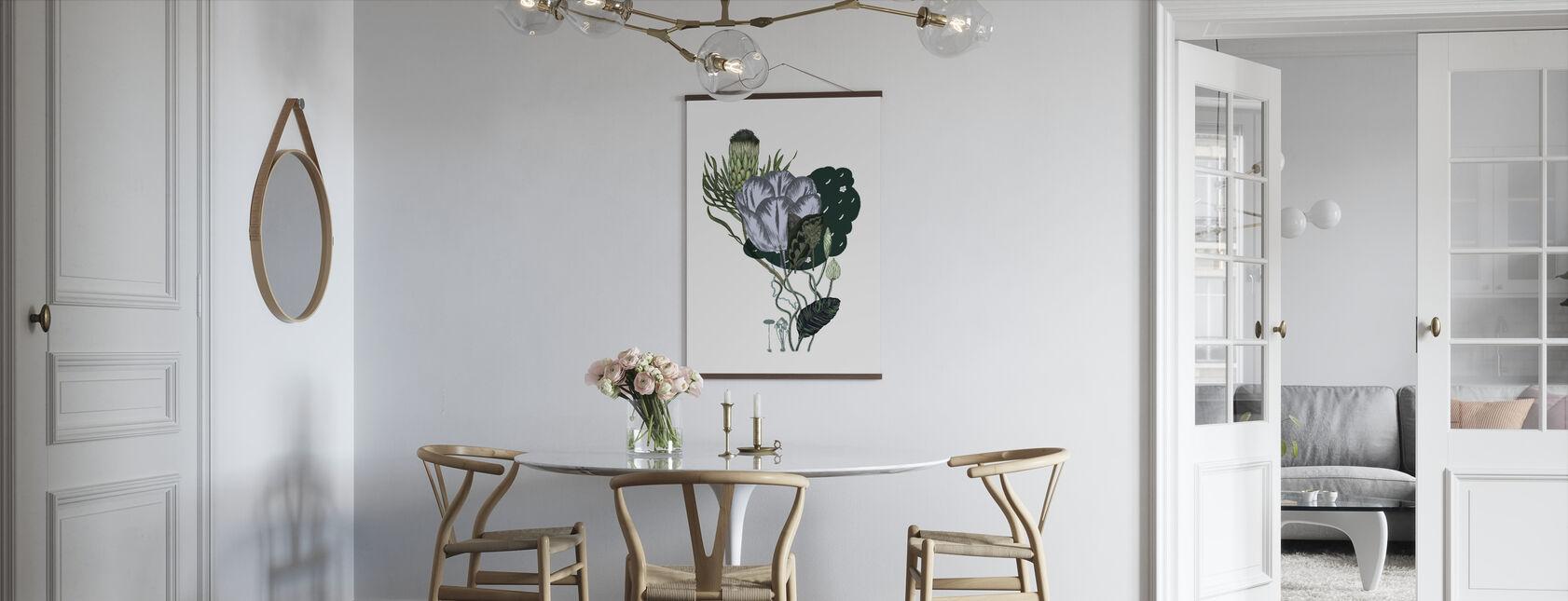 Artichoke Bouquet - Poster - Kitchen