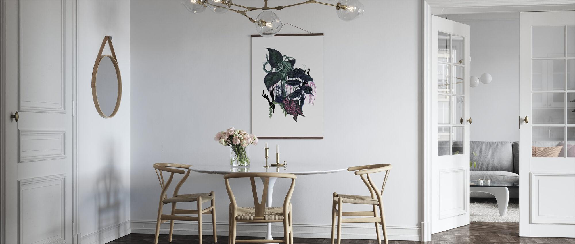 Dark Leaves - Poster - Kitchen