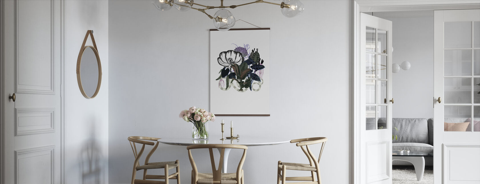 Tulipa Shadow - Poster - Kök