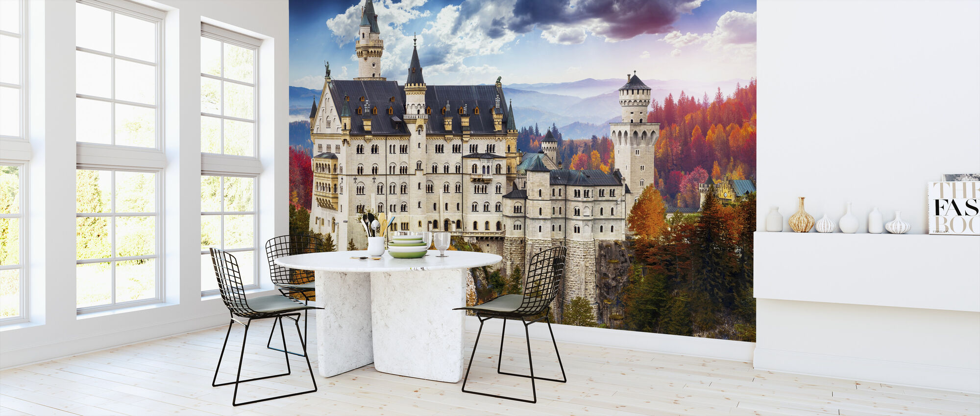 Neuschwanstein Castle - Wallpaper - Kitchen