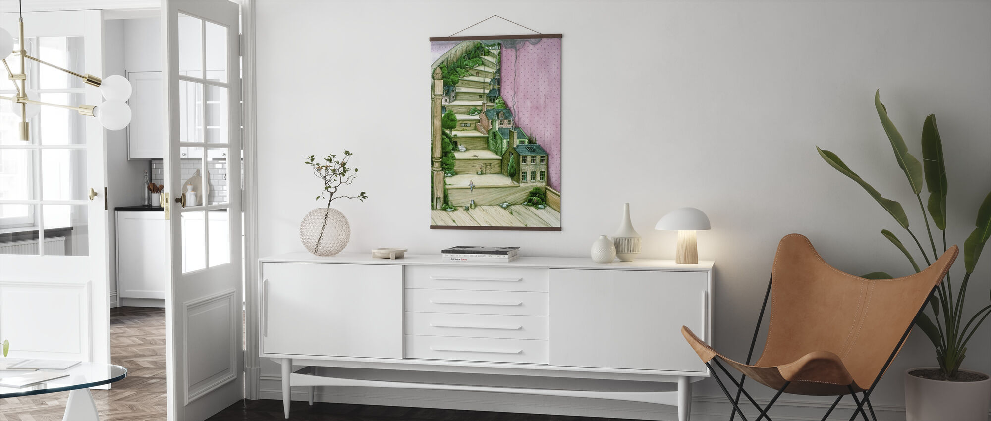 Levende Trappen - Poster - Woonkamer