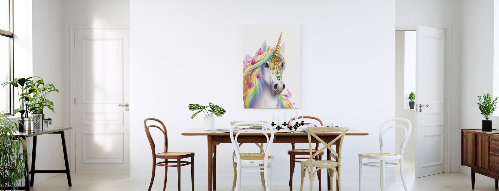 Licorne - Impression sur toile - Cuisine
