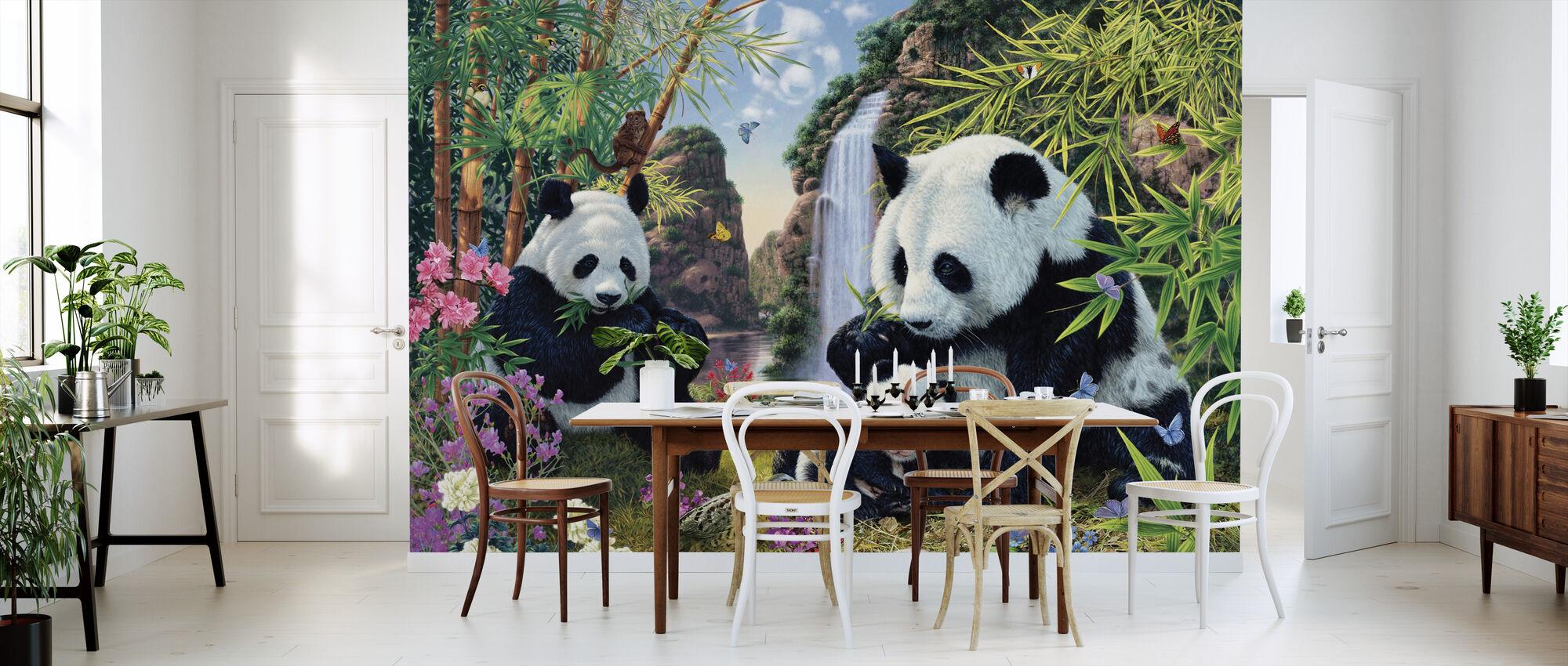 Panda Valley - Wallpaper - Kitchen